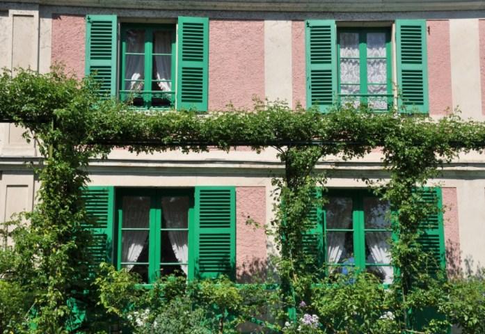 Une journée autour de Giverny - façade de la maison de Monet