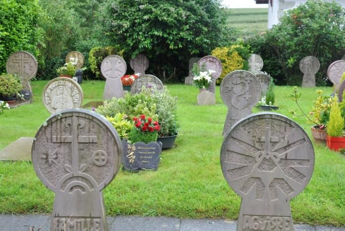 La Marinière en Voyage - cimetière d'Ainhoa