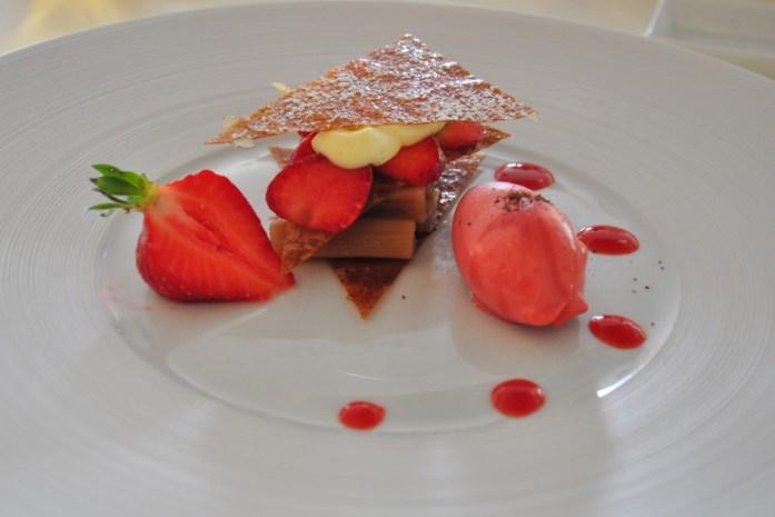 Auberge de l'Ill - dessert gastronomique