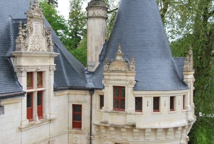 Château d'Azay-le-Rideau - les tourelles
