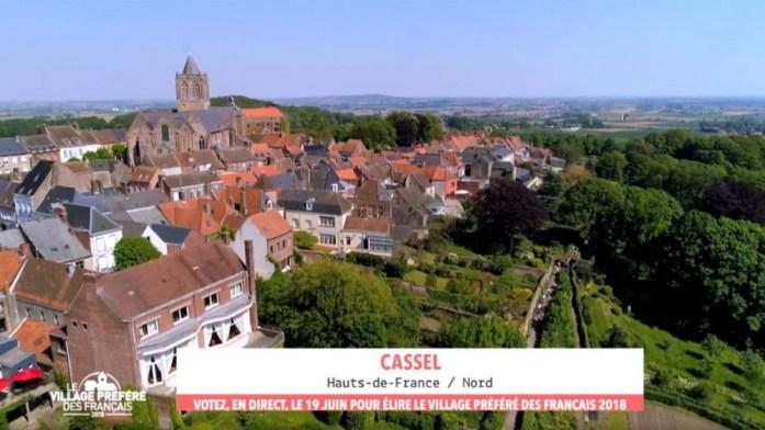 Cassel, élu village préféré des Français