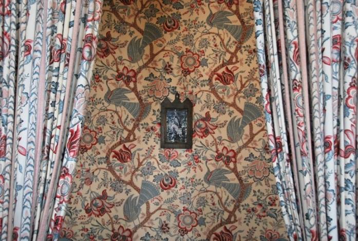 Château de Villandry - décorations dans la chambre à coucher