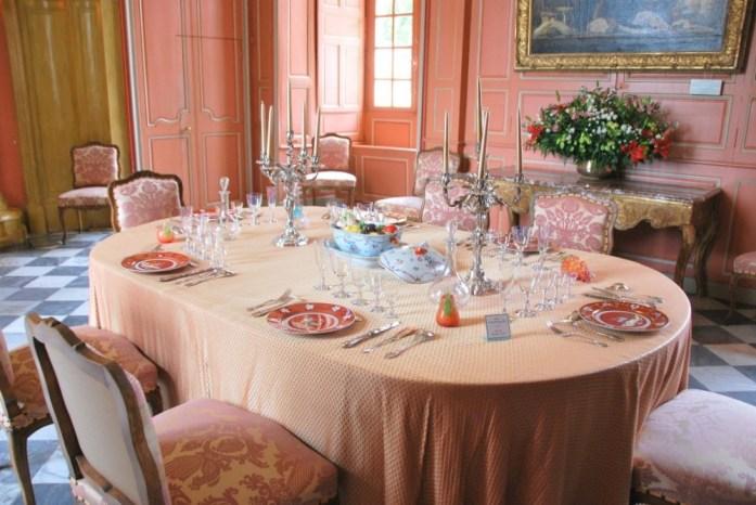 Château de Villandry - la salle à manger