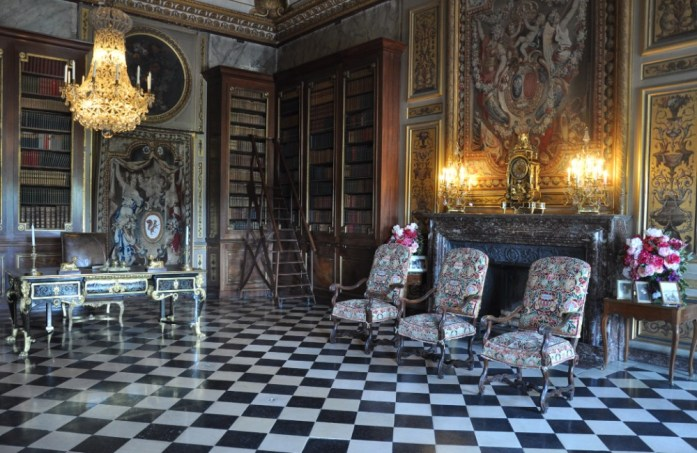 La Marinière en Voyage - Bibliothèque de Vaux le Vicomte