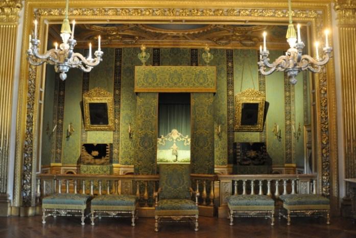 La Marinière en Voyage - Chambre du roi à Vaux le Vicomte
