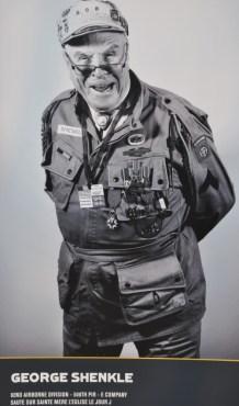 La Marinière en Voyage - affiche au musée du débarquement