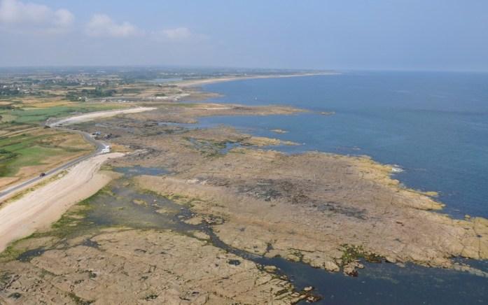 La Marinière en Voyage - vue depuis le phare de Gatteville