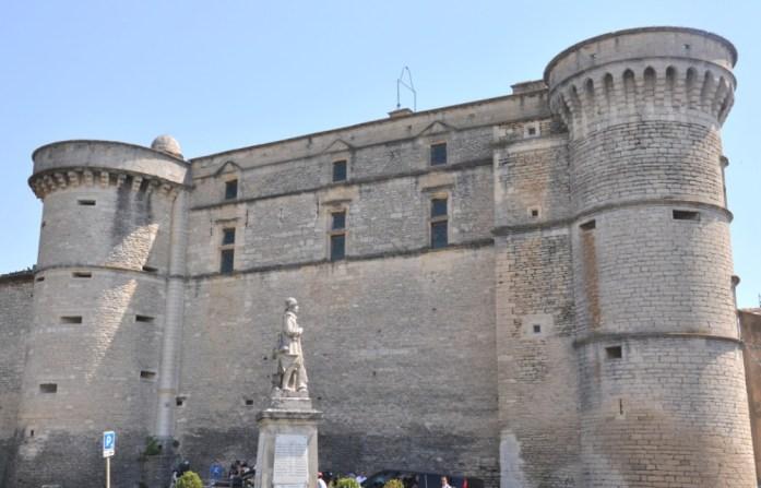 La Marinière en Voyage - château de Gordes