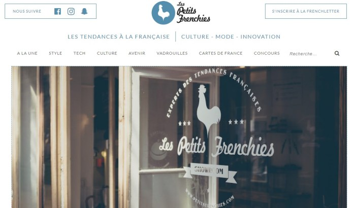 La Marinière en Voyage - Les Petits Frenchies