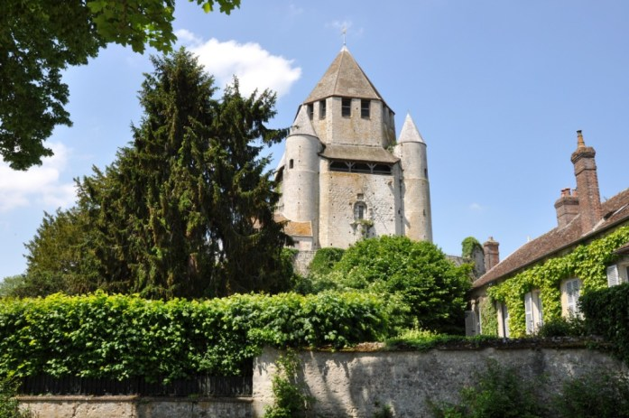La Marinière en Voyage - vue sur la tour César à Provins