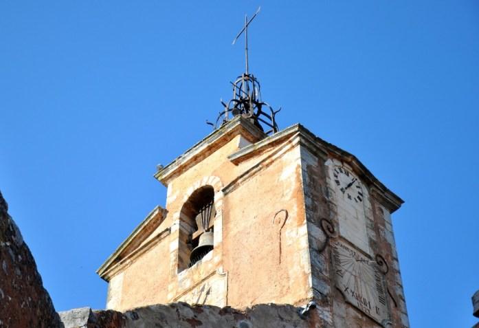 La Marinière en Voyage - clocher de Roussillon