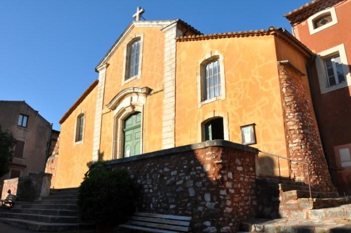 La Marinière en Voyage - église de Roussillon