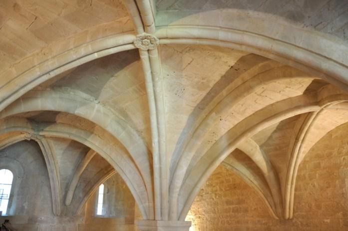 La Marinière en Voyage - salle des chapitres de l'abbaye de Sénanque