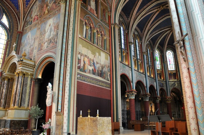 Eglise de Saint Germain des Prés rénovée