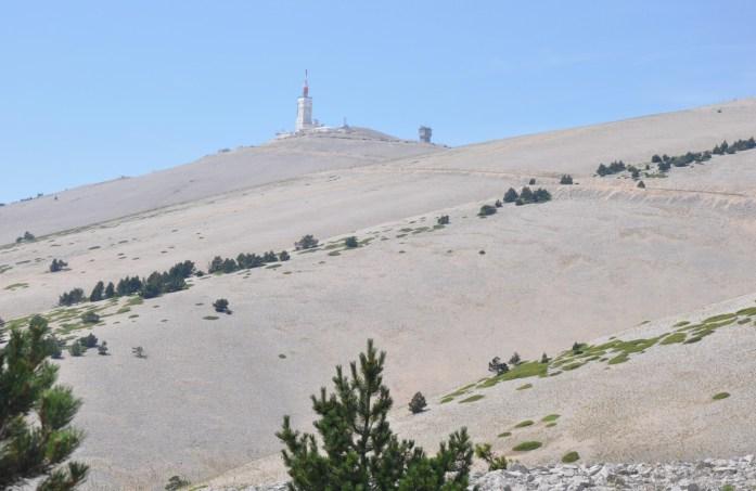 Vue sur le Mont Ventoux