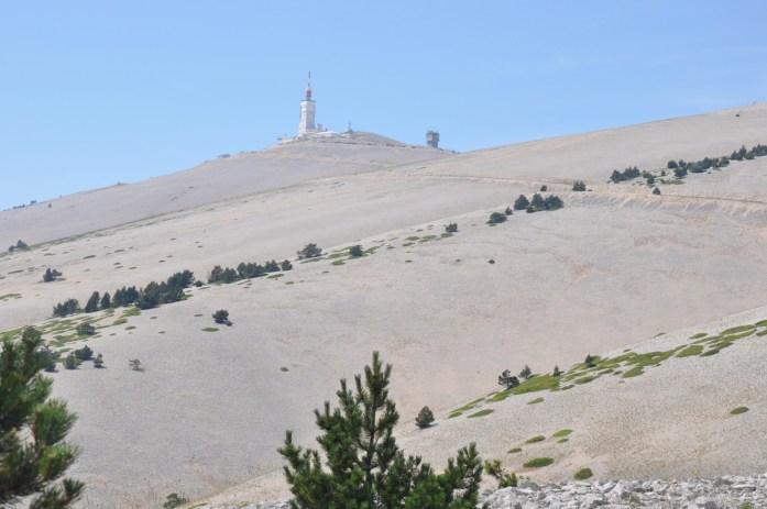 La Marinière en Voyage - vue sur le Mont Ventoux