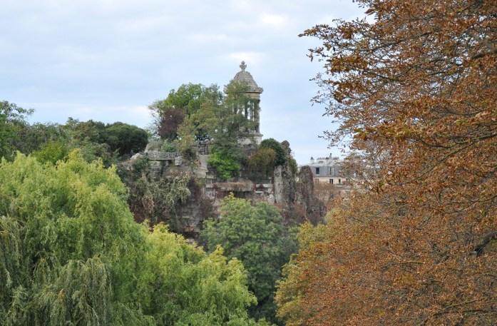 Que faire à Paris en automne - parc des Buttes-Chaumont