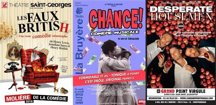 Que faire à Paris en automne - sortir au théâtre
