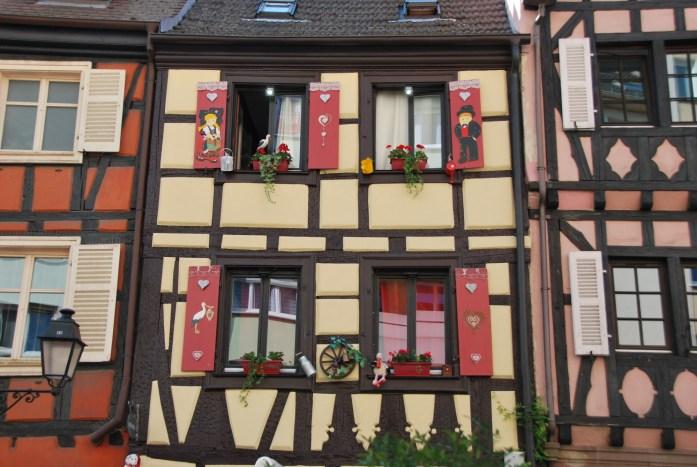 La Marinière en Voyage - jolie façade à Colmar
