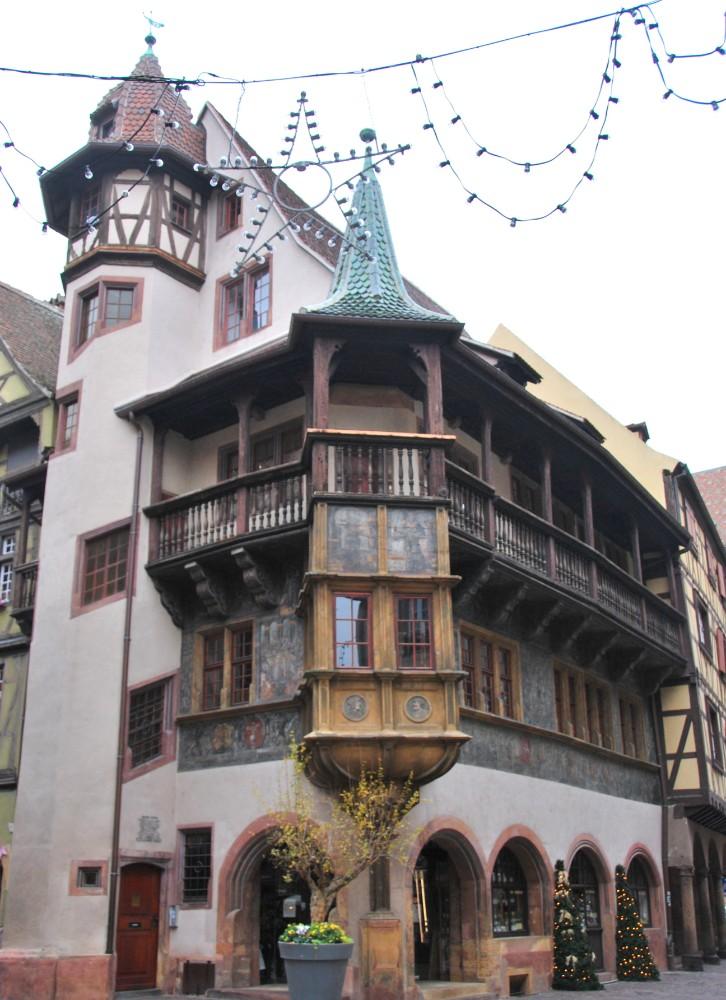 La maison Pfister à Colmar