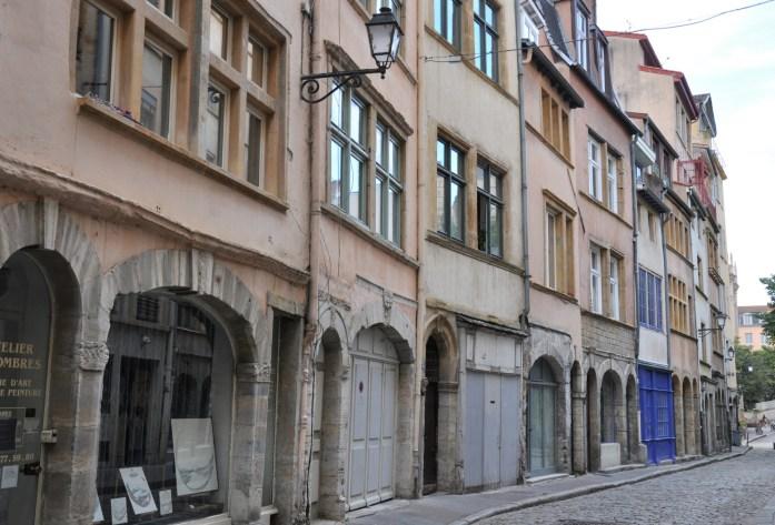 La Marinière en Voyage - Ruelle de Saint Georges dans le Vieux Lyon