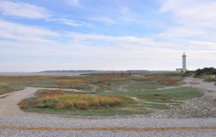Pointe du Hourdel dans la Baie de Somme