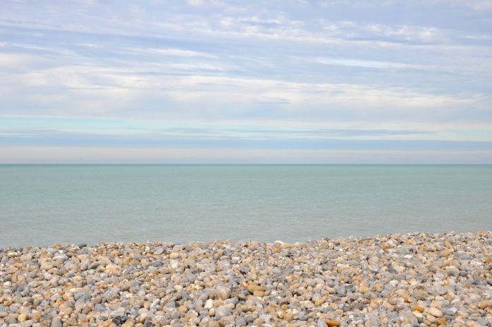 Plage de Cayeux sur Mer dans la baie de Somme