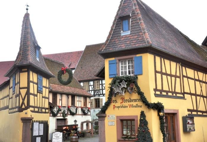 Les plus beaux marchés de Noëls alsaciens - Eguisheim