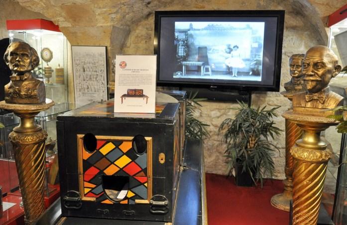 Musées parisiens insolites - exposition au Musée de la Magie