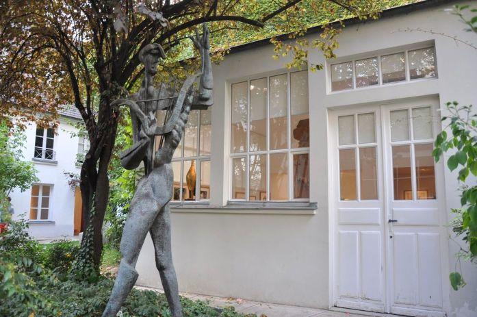 Musées parisiens insolites - l'atelier du Musée Zadkine