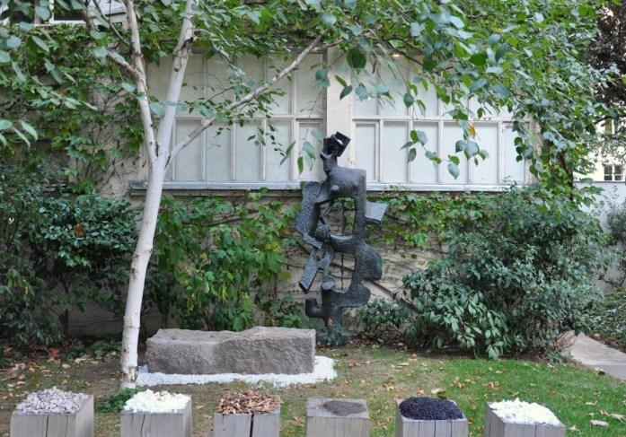 Musées parisiens insolites - le jardin du Musée Zadkine