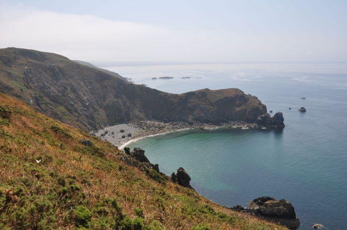 Route des Caps de la Manche - nez de Jobourg