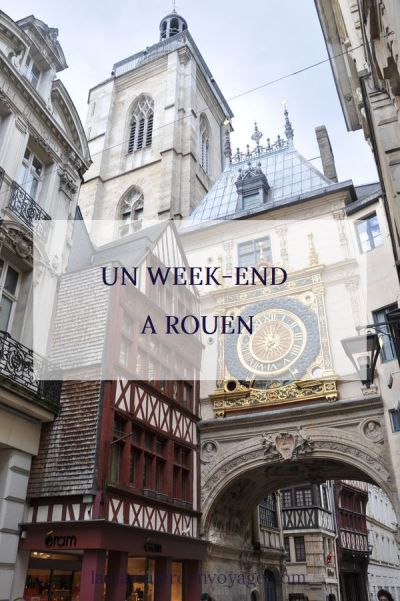 Un week-end à Rouen