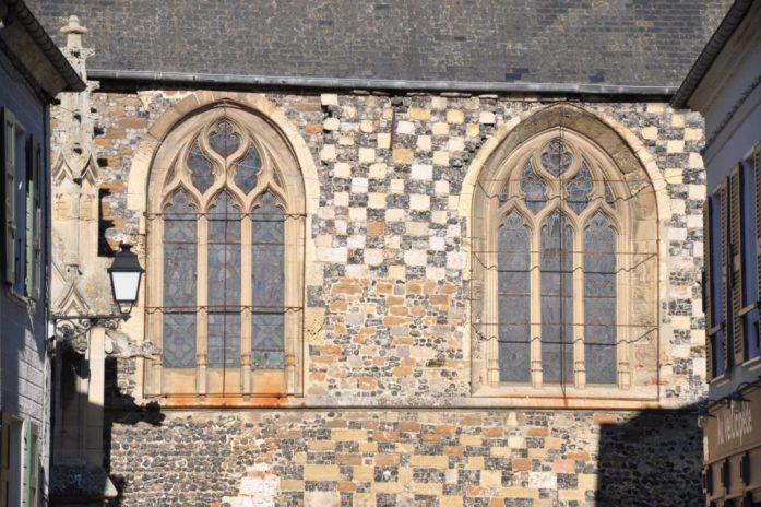 Vélo dans la Baie de Somme - église de Saint Valéry sur Somme