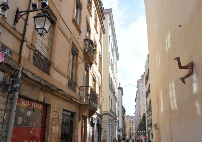Week-end à Lyon : rues de la Croix-Rousse