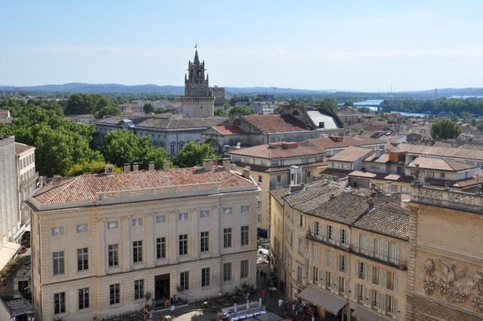 Visiter Avignon et le Palais des Papes en une journée - panorama
