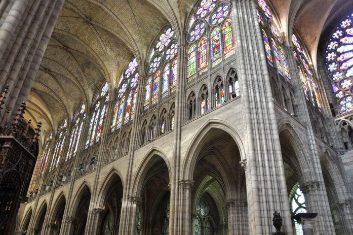 Nef de la Basilique Saint Denis