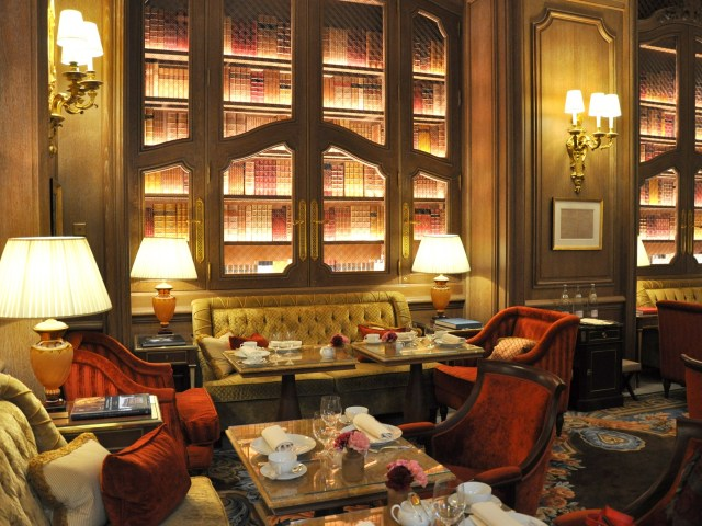 Tea Time au Ritz Paris