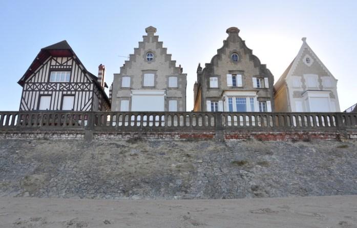 Jolies villas flamandes à Cabourg