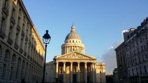 Coucher de soleil sur le Panthéon