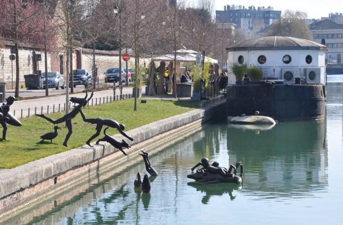 Troyes - bassin autour de la cité