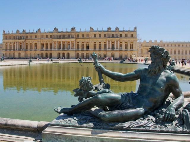 Parterres du château de Versailles