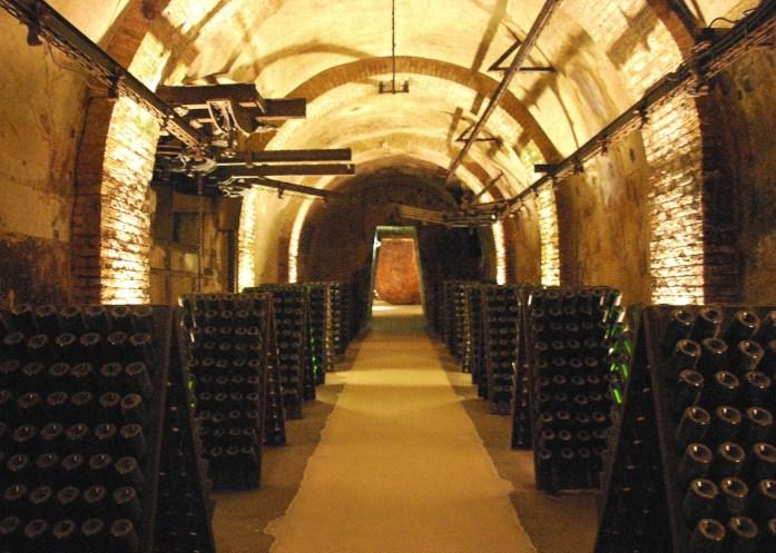 Caves Vranken-Pommery à Reims