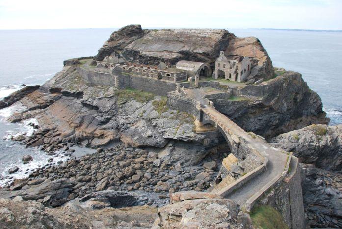 Presqu'île de Crozon - fort des Capucins