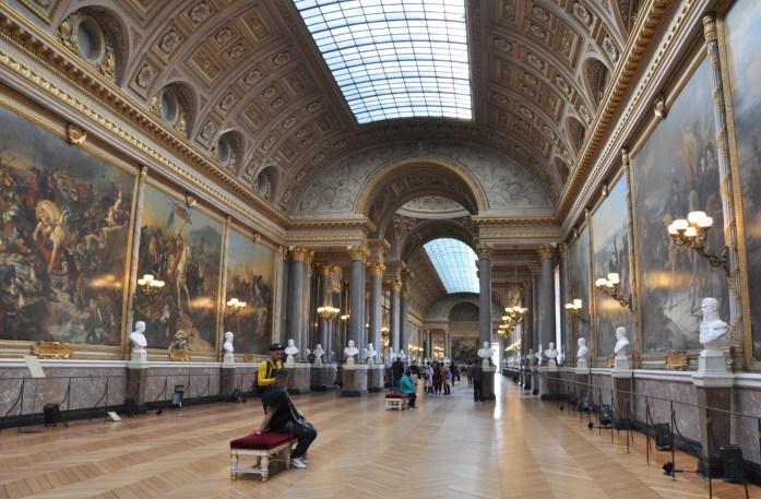 Château de Versailles - galerie des batailles