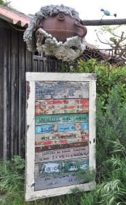 Visiter le Cap Ferret à vélo - village de l'Herbe