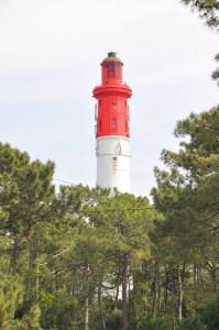 Visiter le Cap Ferret à vélo - le phare