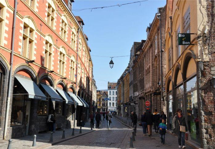 Lille en une journée - rue de la monnaie