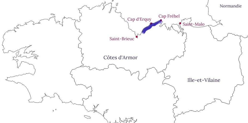 Côte de Penthièvre - Blog La Marinière en Voyage
