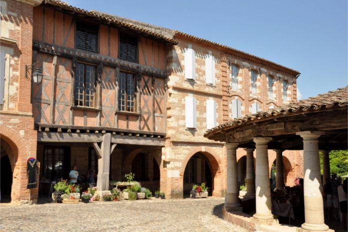Tarn-et-Garonne - visite d'Auvillar